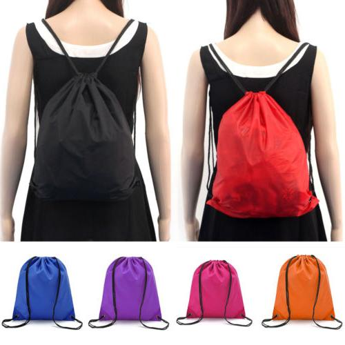 String Back Cinch Bag School Sport PE Shoe