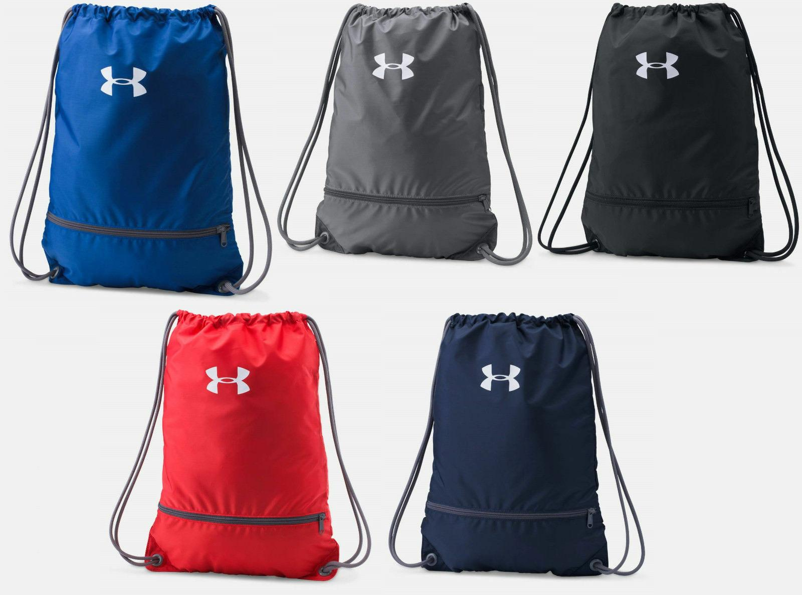Under Armour String Drawstring Cinch Sack School Tote Gym Ba