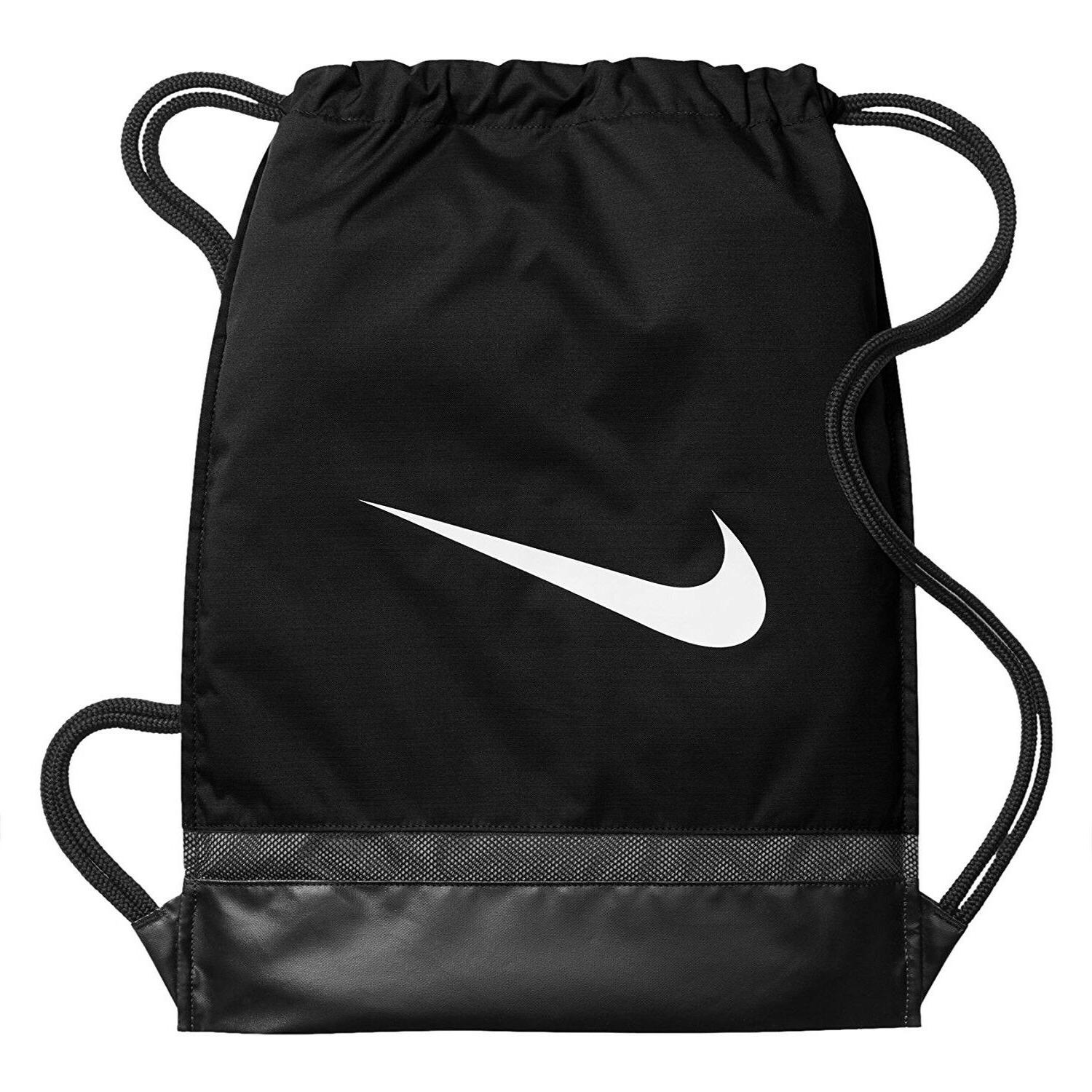 training gymsack drawstring black backpack sport sackpack