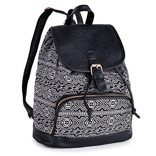 vibiger stylish canvas backpack casual