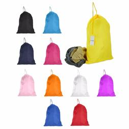 DALIX Large Laundry Bag Drawstring Bags Sack Heavy Duty Spor