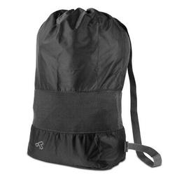 lightweight nylon and mesh drawstring storage travel