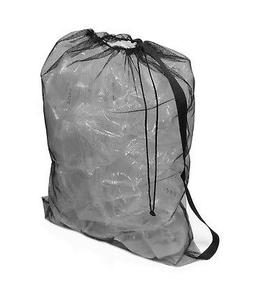 Get Out! Lightweight Extra Large Nylon Mesh Drawstring Backp