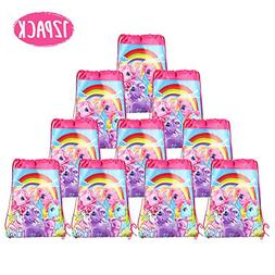 My Little Pony Bags Party Treat Drawstring Bags for Kids Bir