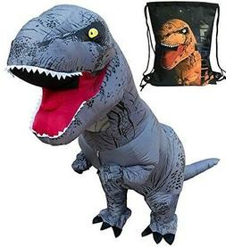 LuckySun Adult T-Rex Dinosaur Inflatable Costume w/Exclusive