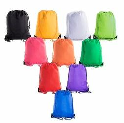 Mato & Hash Basic Cinch Sack Drawstring Pack Tote Promotion