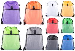 Mato & Hash Drawstring Cinch Bag Backpack Sack Tote Mesh Poc