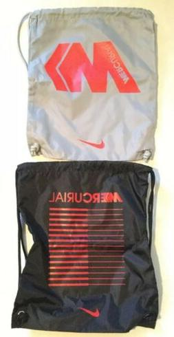 Nike Mercurial Backpack Drawstring Shoe Bag Soccer Cleat Red