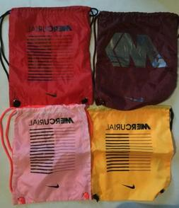 Nike Mercurial Backpack Drawstring Shoe Bag Soccer Cleats Sa