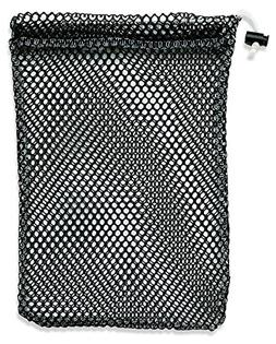 "Mesh Stuff Bag - 11"" x 15"" - Durable Mesh Bag with Slidi"