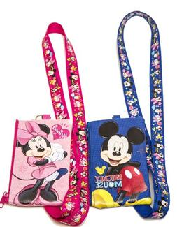 Disney Minnie Mouse Lanyard with Detachable Wallet