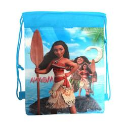 Moana Cartoon Bag Non-woven Drawstring Backpack Kids Drawstr