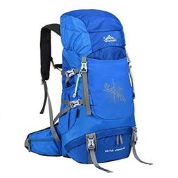 Vbiger 65L Mountaineering Backpack Large-capacity Mountain C