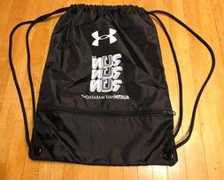 New Under Armour AUSTIN Half Marathon RUN Drawstring Backpac
