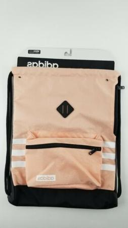 NEW adidas Classic 3S Sackpack Glow Pink & Black with white