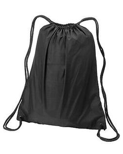 NEW Liberty Bags Drawstring Bag Large Backpack 8882 Black Mo