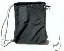 NEW Nike Heritage Gym Sack Black Bag Size One Size Workout W