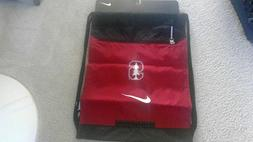 New NIKE STANFORD DRAW STRING BAG with zippered front pocket
