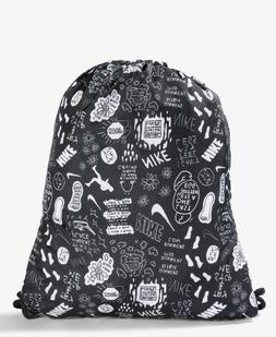 NEW OFFICIAL NIKE PRINTED TEXTURED ELITE DRAWSTRING BAG NWT