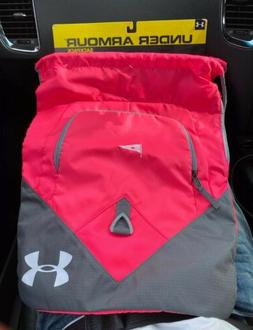 NWT Under Armour Girls Women's Pink Sackpack Drawstring Ba