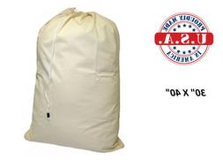 Nylon Laundry Bag 30 x 40- Heavy Duty- EXTRA LARGE Locking D