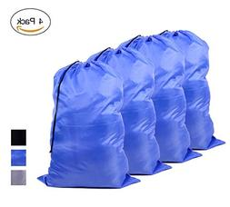Large 100% Nylon Laundry Bag — Durable, Water-Resistant &