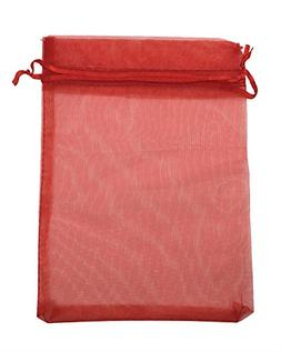 "SUNGULF 50pcs Organza Pouch Bag Drawstring 5""x7"" 13x18cm Str"