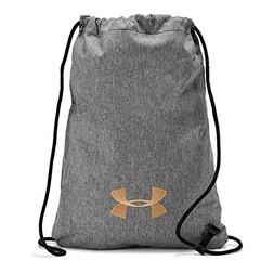 Under Armour Ozsee Elevated Sackpack, Black Medium Heather ,