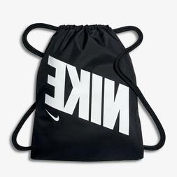 NIKE  Pack Drawstring Athletic Gym Sack Backpack Bag black S