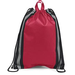 Pack of 150- Two Tone Non Woven Large Drawstring Backpack Ci
