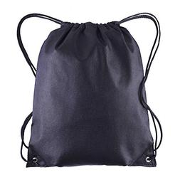 Pack of 25 - Non-Woven Promotional Drawstring Bags - Drawstr