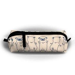 Pencil Pen Case Bag Stationery Pouch Bag French Bulldogs for