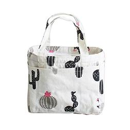 Didihou Picnic Bag Insulated Lunch Bag Lunch Tote Travel Pic