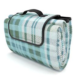 Picnic Blanket 100% Waterproof EXTRA LARGE Quality Picnic Ma