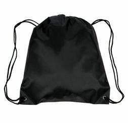 Polyester Drawstring Bags Bulk Packs - Cinch Bags Wholesale
