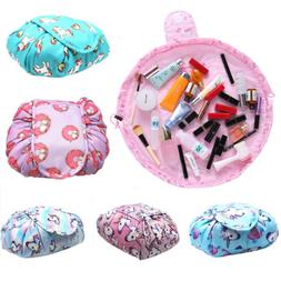 Portability Magic Travel Pouch Cosmetic Bag Makeup Bags Stor