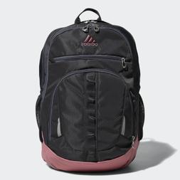 adidas Prime Backpack, Carbon/Trace Maroon Pink/Onix, One Si