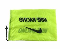 Nike Racing Draw String Dust Bag | 17in x 11.5in | Neon Volt