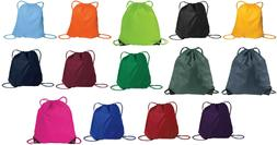 Sackpack Drawstring Backpack Sack Pack Cinch School Gym Bag