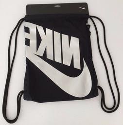 NIKE *Silver Swoosh Heritage Day Pack Drawstring Athletic Gy