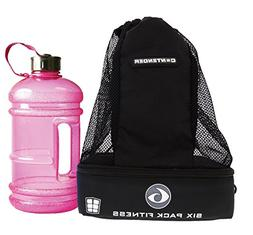 Six Pack Fitness Contender 2.0 backpack w/insulated meal com