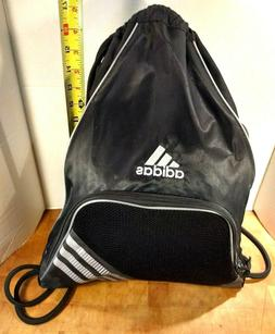 Adidas Sports Bag Drawstring Backpack with front Zipper Pock