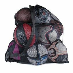 Sports Ball Bag Drawstring Mesh - Extra Large Professional E