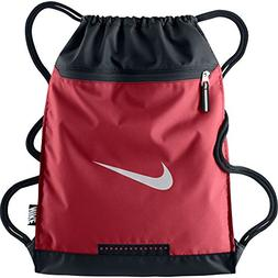 Nike Team Training Gymsack Gym Red/Black/White Size One Size