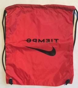 Nike Tiempo Football Backpack Drawstring Shoe Bag Soccer Cle