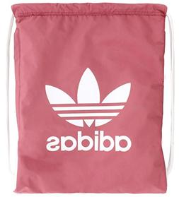 adidas Originals Trefoil Sackpack, Trace Maroon Pink/White,