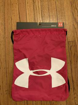 UNDER ARMOUR UA OZSEE SACKPACK PINK/BLACK/WHITE DRAWSTRING G