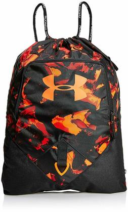 Under Armour Undeniable Sackpack /Drawstring Bag, Black /Ora