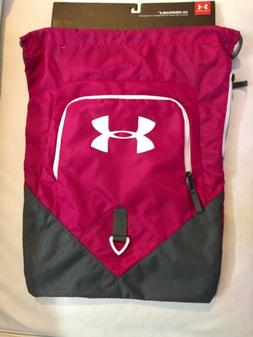 Under Armour Undeniable Sackpack Drawstring Bag Tropic Pink