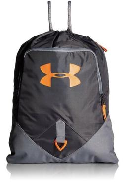 Under Armour Undeniable Sackpack Rhino Gray / Magma Orange,